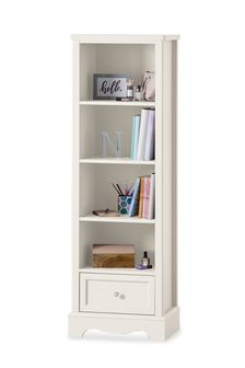 White Amelia Bookcase