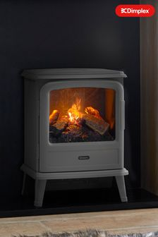 Slate Evandale Opti-Myst Electric Stove By Dimplex