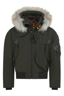 Boys Khaki Gobi Down Padded Jacket