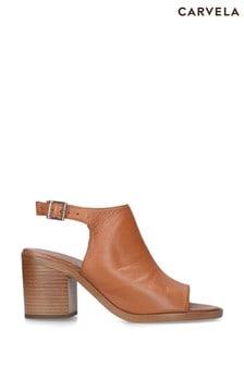 Carvela Comfort Tan Alpha Heels