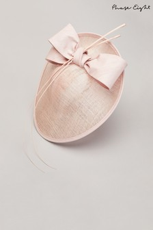 Phase Eight Pink Winnie Oval Disc Fascinator