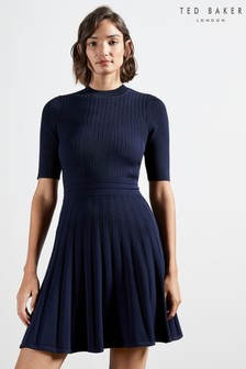 Ted Baker Olivin Stitch Detail Dress