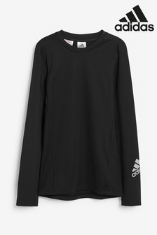 adidas Black Tech Base Layer Top