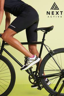 Black Padded Cycling Shorts