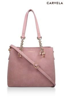 Carvela Pink Mini Camilla Slouch Tote Bag