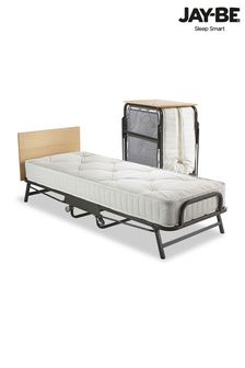 Crown Premier Folding Bed with Deep Sprung Mattress By Jay Be