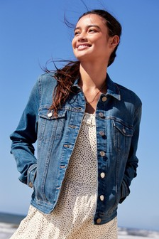 25178924c02 Mid Blue Denim Jacket ...