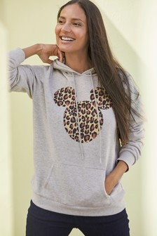 Grey Mickey Mouse™ Graphic Hoody