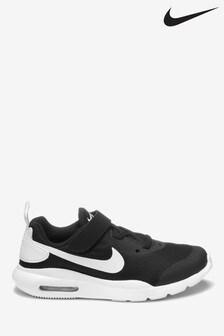 Nike Black/White Air Max Oketo Junior Trainers