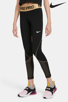 Nike Black/Gold Leggings