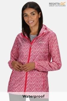 Kimberley Walsh Printed Pack It III Waterproof Jacket
