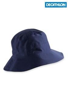 Decathlon Women's Blue Rain Hat
