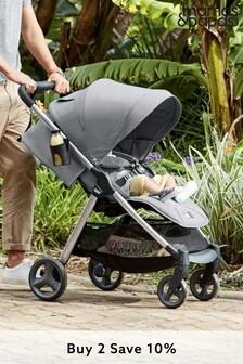 Steel Grey Mamas & Papas® Armadillo Pushchair