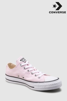 db4697160e892e Pink Converse Pink Chuck Low Trainer
