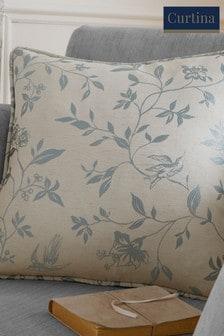 Curtina Blue Bird Trail Cushion
