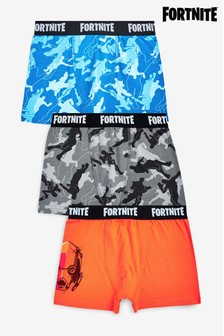 Multi 3 Pack Fortnite Trunks (9-16yrs)