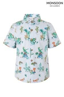 Monsoon Stripe Dinosaur Shirt