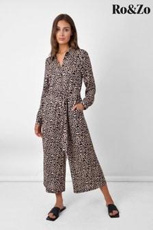 Ro&Zo Animal Animal Culotte Jumpsuit