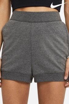 Nike Yoga Fleece High Waisted Shorts