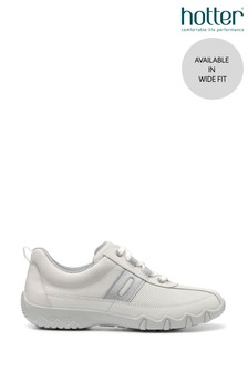 Hotter Leanne Wide Fit Lace-Up Full Covered Trainers