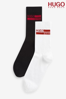 HUGO 2 Pack Socks Gift Set