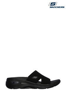Skechers® Black Go Walk Arch Fit Sandals