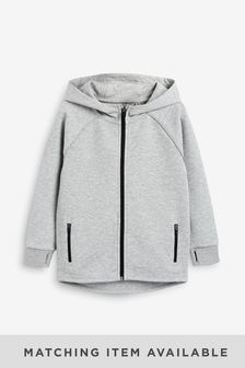 Grey Zip Through Sports (3-17yrs)