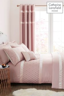 Catherine Lansfield Sequin Cluster Duvet Cover And Pillowcase Set
