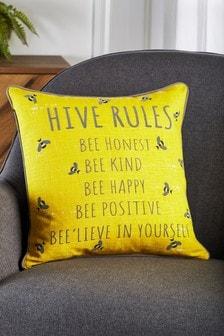 Beehive Rules Cushion