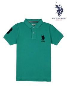 U.S. Polo Assn. Green Player 3 Polo