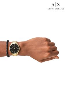 Armani Exchange Cayde Watch & Bracelet Gift Set