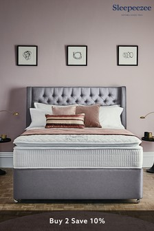 Grey Blossom Headboard By Sleepeezee