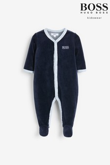 BOSS Navy Pyjamas