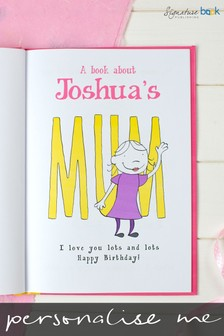Personalised My Mum Hardback Book by Signature Book Publishing