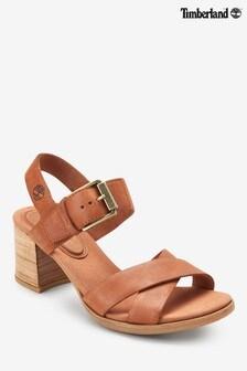 Timberland® Tan Tallulah May Heeled Sandal