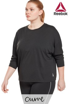 Reebok Curve Long Sleeve Supremium T-Shirt