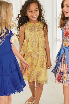 a79c9558f9 Buy Girls dresses Oldergirls Oldergirls Yellow Yellow Dresses from ...