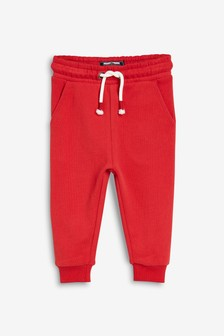 Red Joggers Soft Touch Jersey (3mths-7yrs)