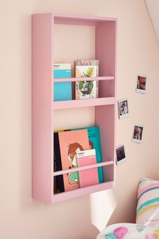 Quinn Pink Display Bookcase