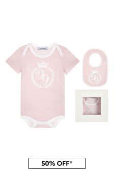 Baby Girls Pink Gift Set