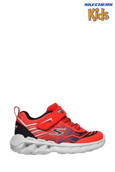 Skechers® Red Magna-Lights Bozler Trainers