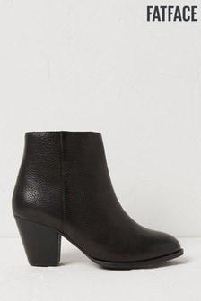 FatFace Black Oak Zip Ankle Boots