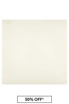 Bonpoint Baby White Blanket