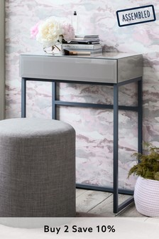 Grey Sloane Compact Dressing Table