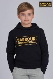 Barbour® International Boys Large Logo Hoodie