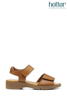 Hotter Porto Touch Fastening Open Sandals