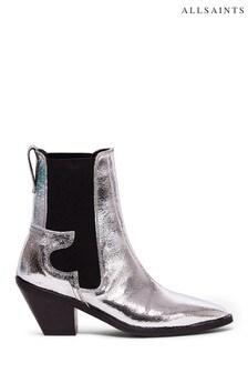 AllSaints Sara Ankle Calf Boots