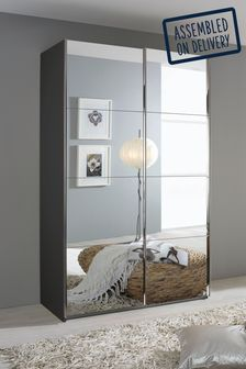 Mirror Cameron 1.36m Sliding Wardrobe By Rauch