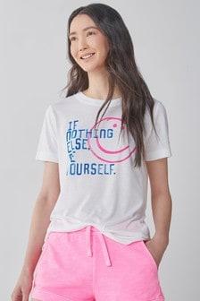 White Parkinson's UK Charity T-Shirt