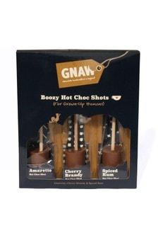 Gnaw Boozy Hot Chocolate Shots Set